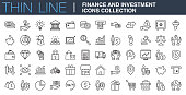 Finance and Investment Icons Collection