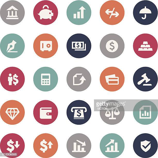 Finance Icons - Bijou Series