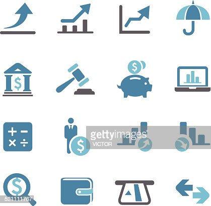 finance icons conc series vector art getty images. Black Bedroom Furniture Sets. Home Design Ideas