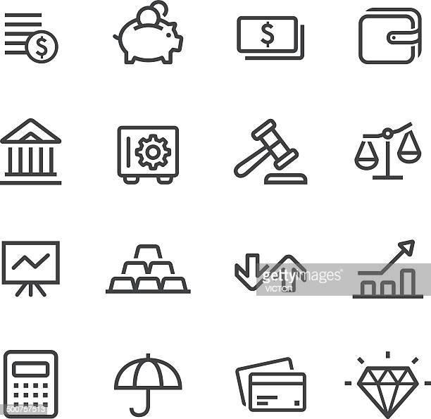 Finance Icons - Line Series
