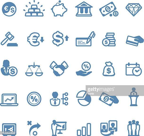 Finance icons / Linico series