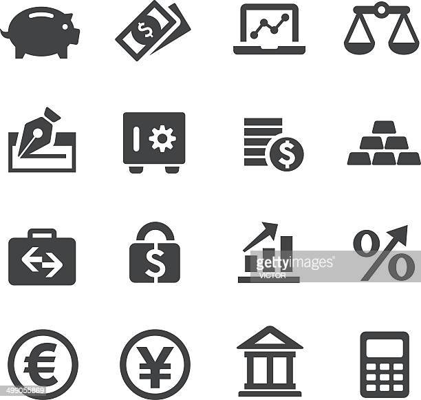 Finance Icons Set - Acme Series