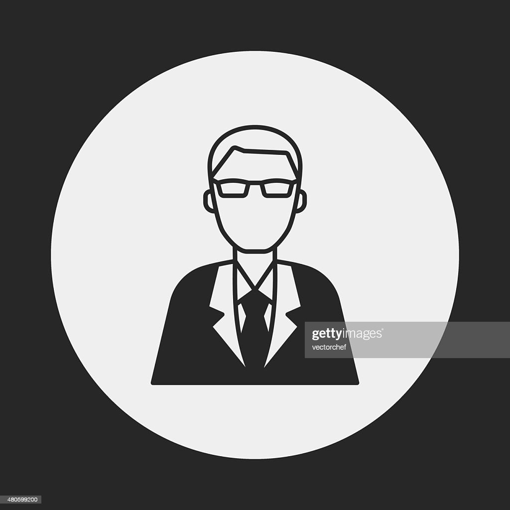 financial business concept icon : Vector Art