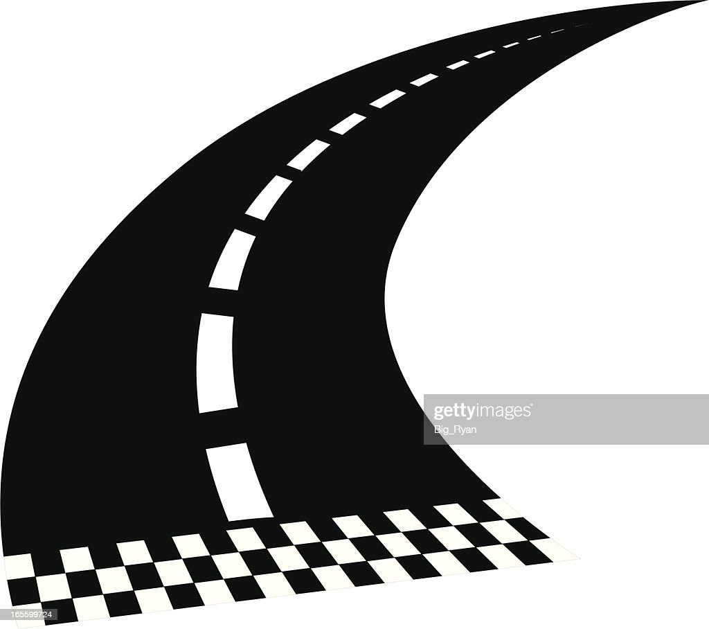 Nascar Race Track Illustration