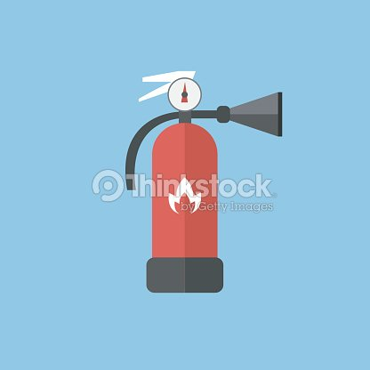 Fire Extinguisher Sign Icon Fire Safety Symbol Vector Eps10 Vector