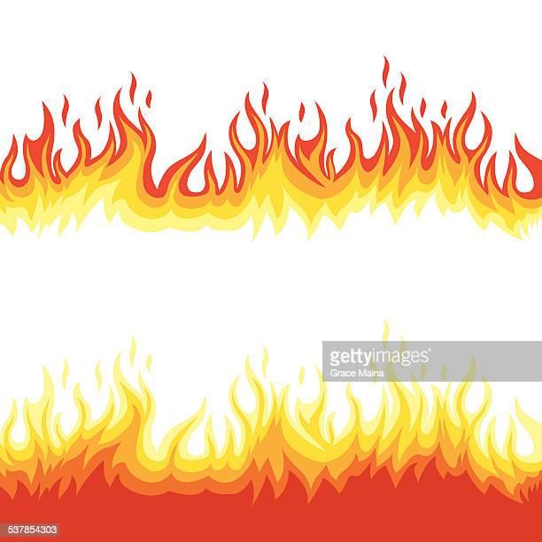 Fire flames - VECTOR