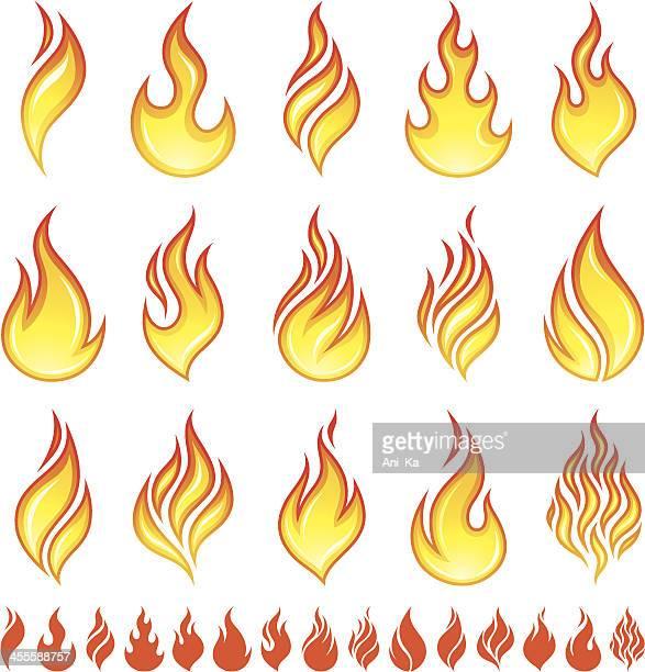 Feuer Symbole