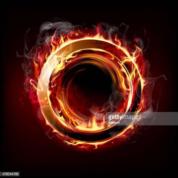 Feuerstelle ring
