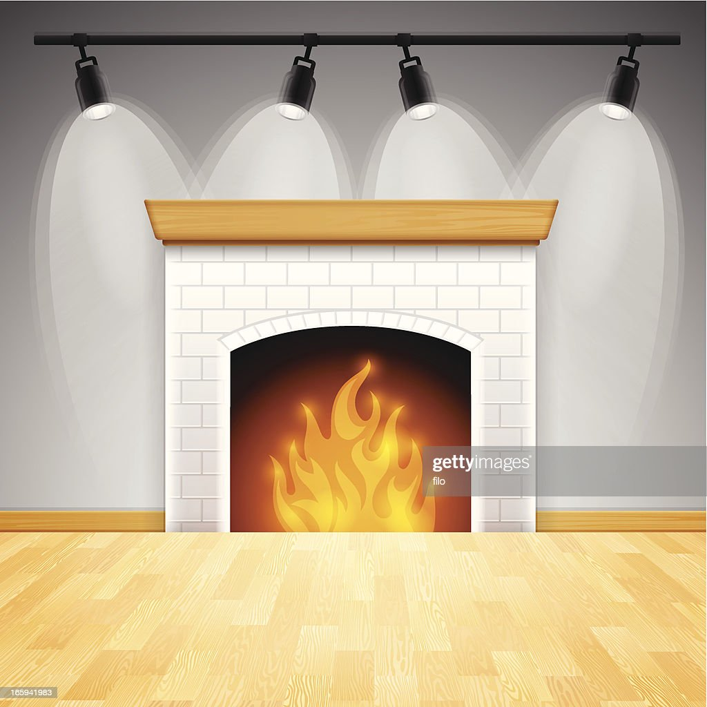 fireplace vector art getty images