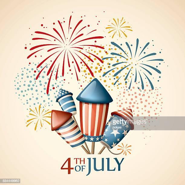 Feuerwerk - 4. Juli