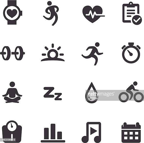Fitness and Healthy Icons - Acme Series