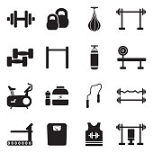 Exercising, Sport, Gym, Bike, Fitness.