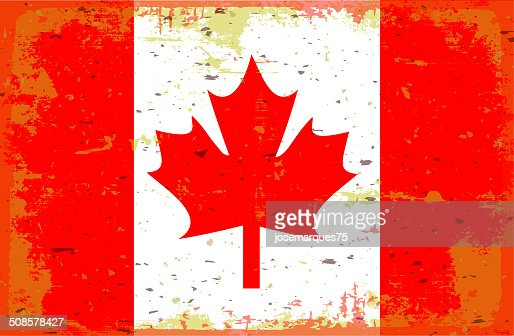 Flag of Canada : Vector Art
