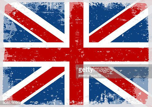 Flag of England : Vector Art