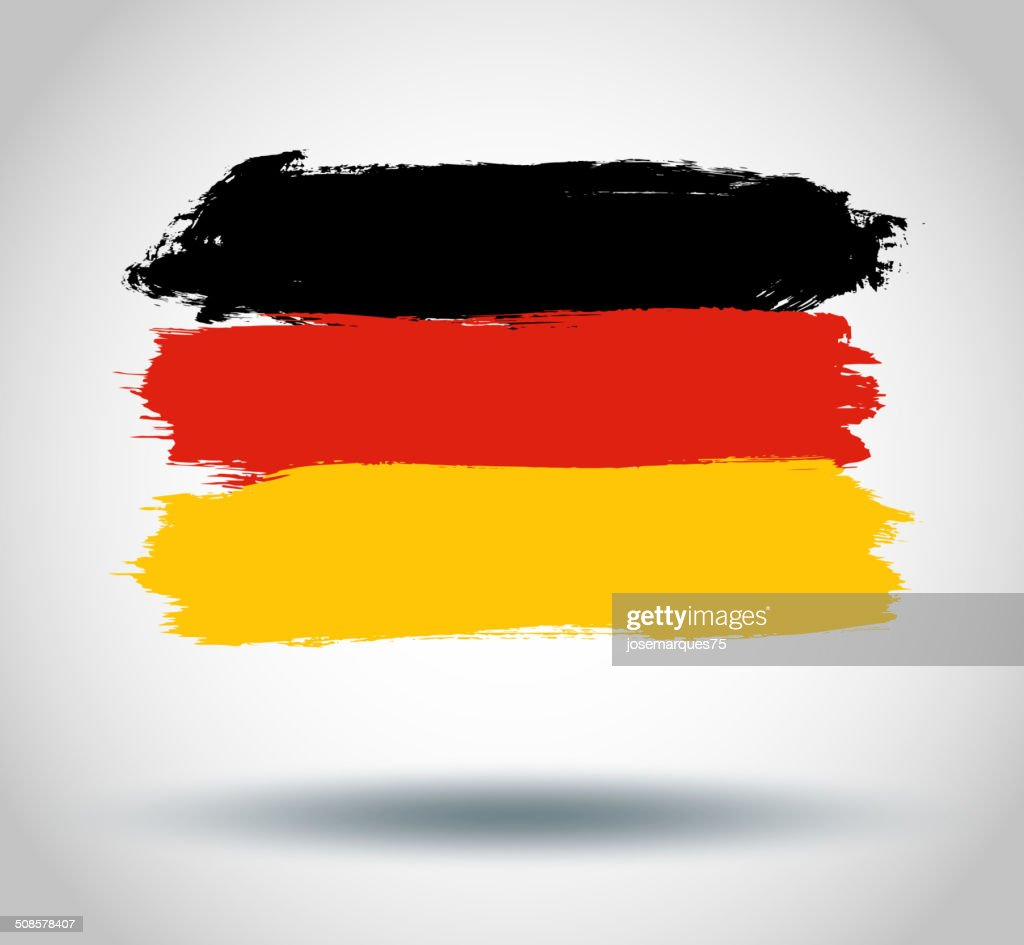 Bandiera della Germania : Arte vettoriale