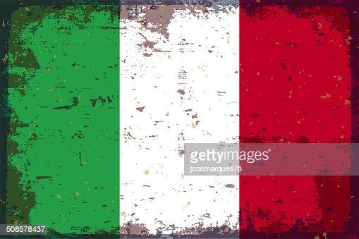 Drapeau Italie : Clipart vectoriel