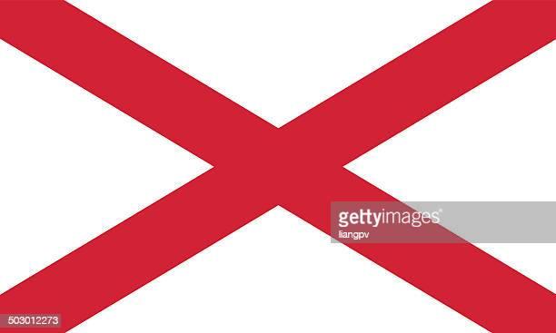 irlande du nord drapeau - Image