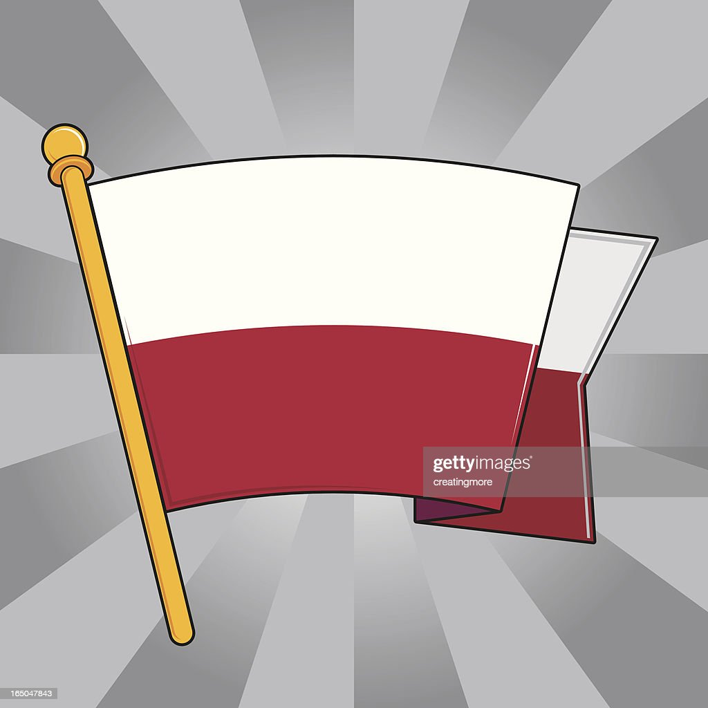flag of poland vector art getty images