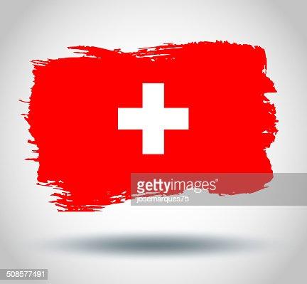 Flag of Switzerland : Vectorkunst