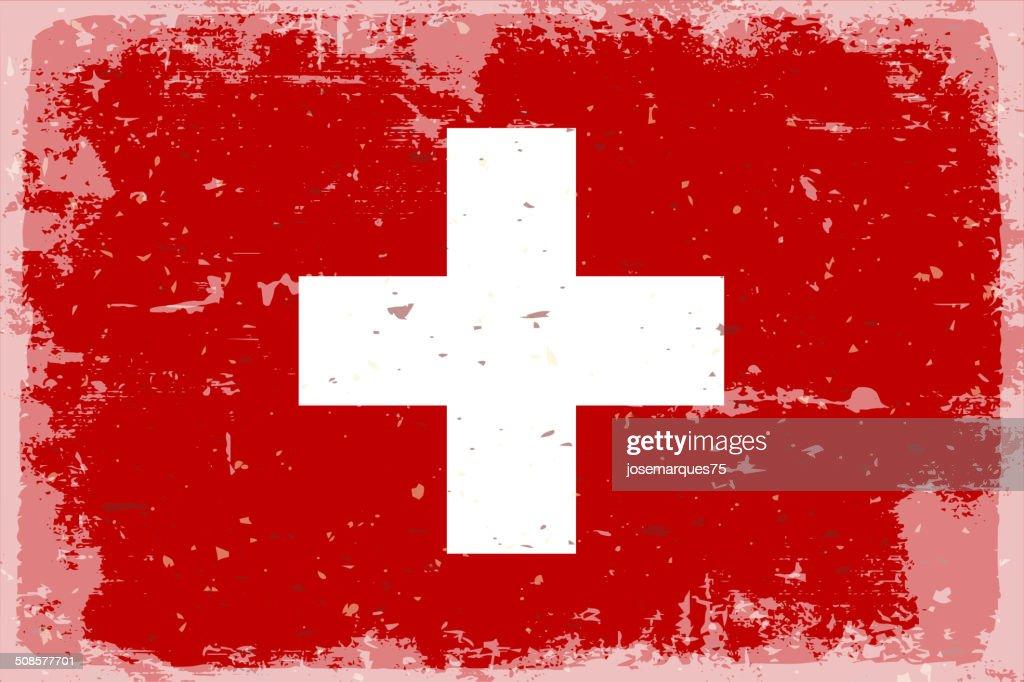 スイス国旗 : ベクトルアート