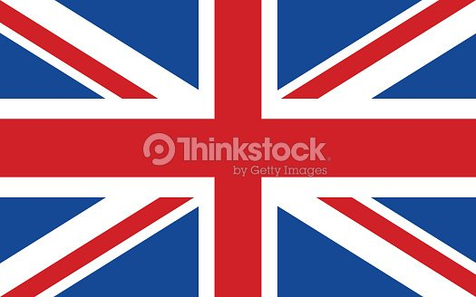 Flag of United Kingdom : stock vector