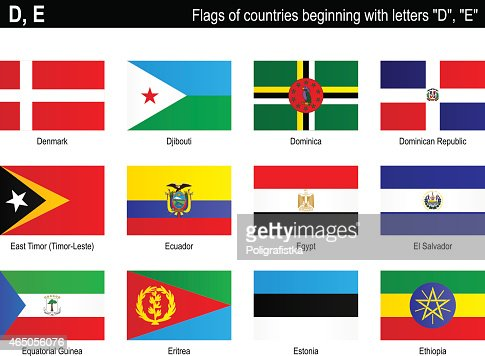 Countries With That Start With The Letter D