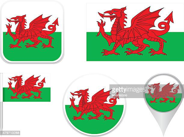 Flags Wales