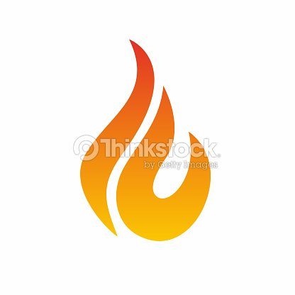 flame icon fire icon fire flame icon design template vector art