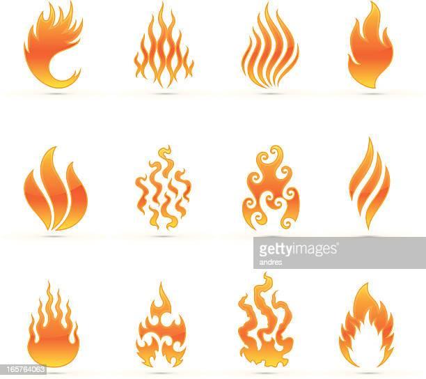 Flamme Symbol