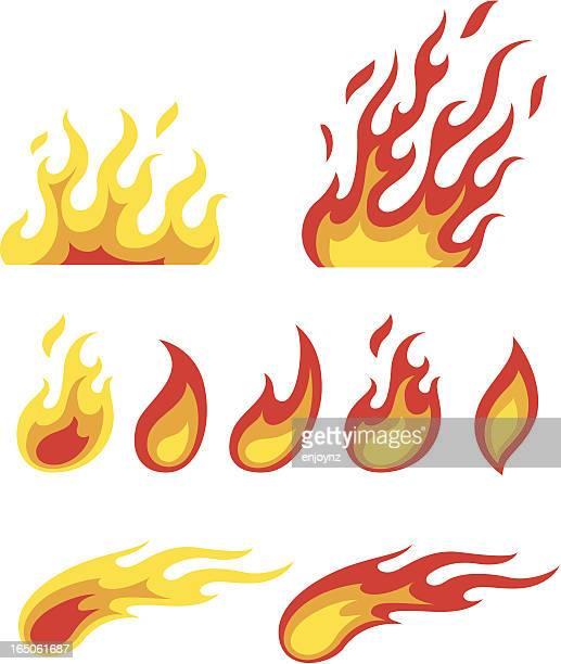 Flamme Symbole