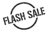 flash sale black round stamp