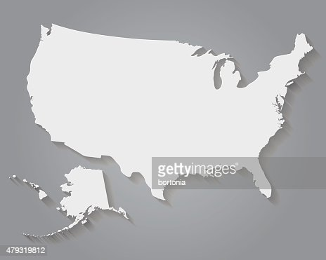 Usa Map Highlighting State Of Missouri Vector Vector Art Getty - Us map with states vector