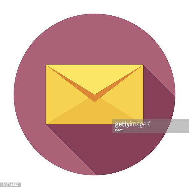 Flat Envelope Icon