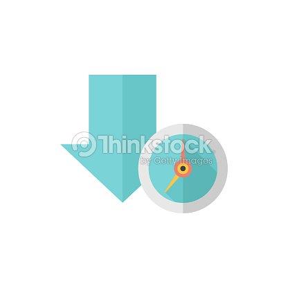 Flat icon download queue vector art thinkstock flat icon download queue vector art ccuart Images