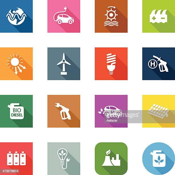 Flat Icons - Alternative Energy