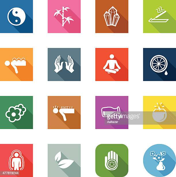 Flat Icons - Alternative Medicine