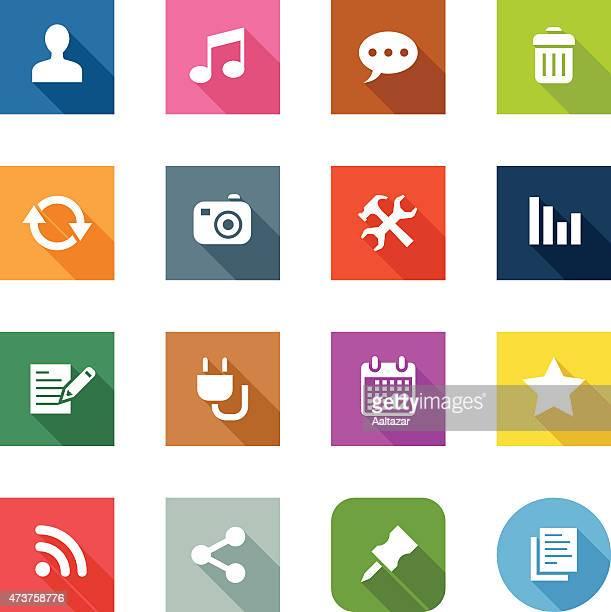 Flat Icons - Blog