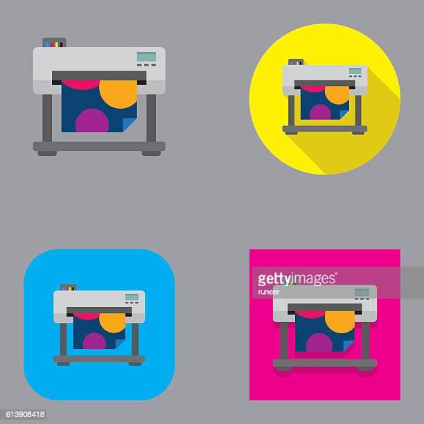 Flat Large Format Inkjet Printer   Kalaful series