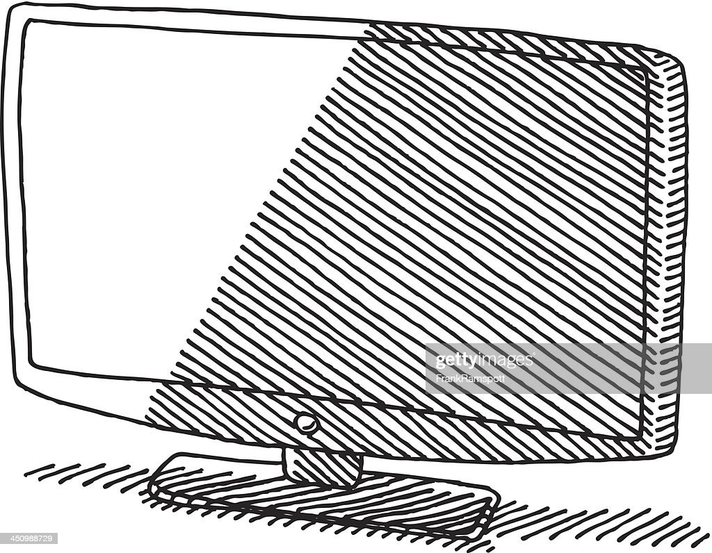 tv drawing. similar images tv drawing