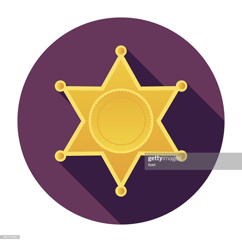 vector template police shield badge vector free vectors