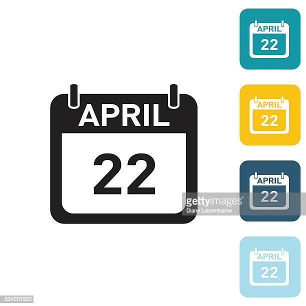 Flat Wedsite Icon - Calendar
