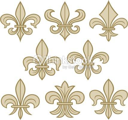 Fleur de lys symbole antique clipart vectoriel thinkstock - Symbole fleur de lys ...