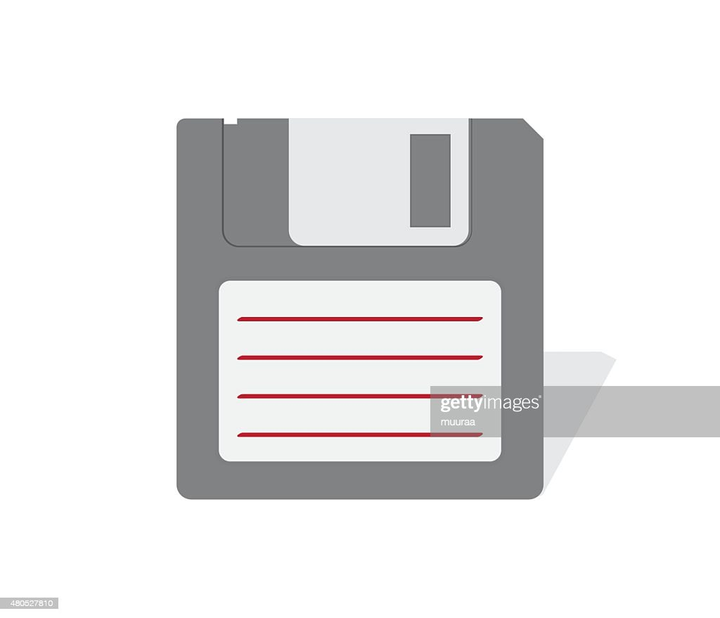 floppy disk : Vector Art