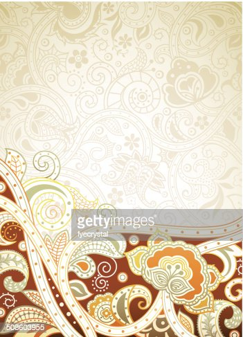 Floral Abstract : Vector Art