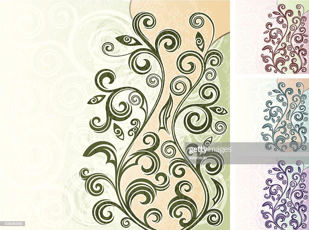 Floral background : Vektorgrafik