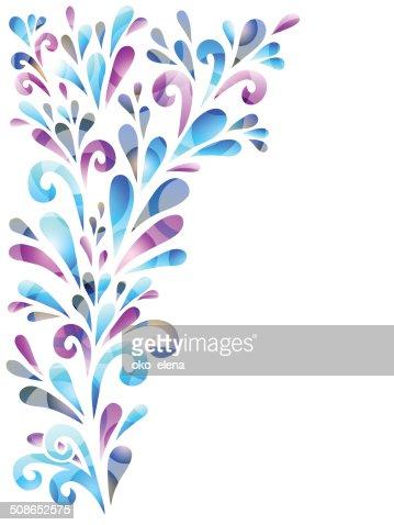 floral background : Vector Art