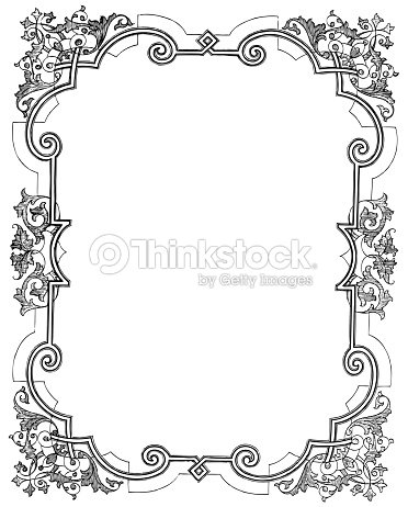 Floral Frame Stock Vector Thinkstock