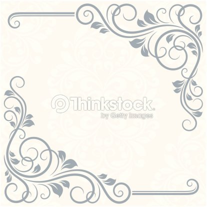 Floral greeting card vector art thinkstock floral greeting card vector art m4hsunfo