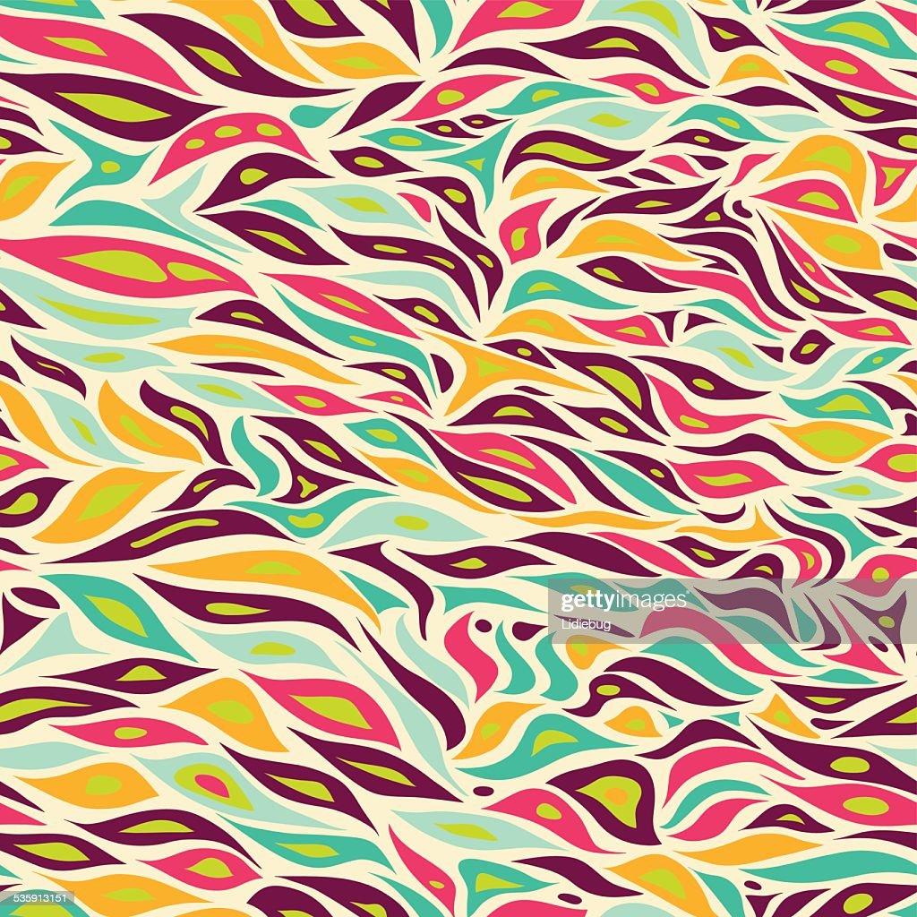 seamles padrão Floral. : Arte vetorial