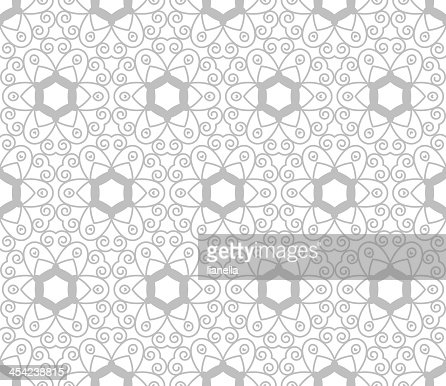 Floral seamless pattern : Vector Art